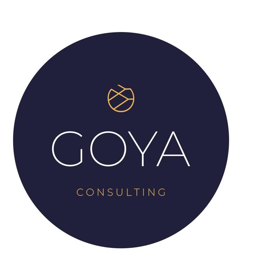 Логотип компании «GOYA Consulting»