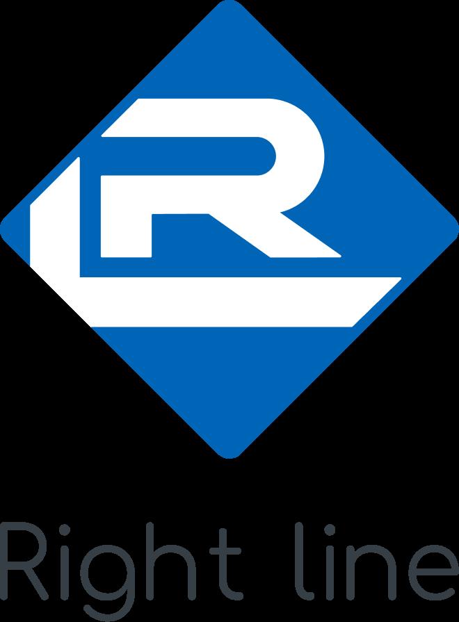 Логотип компании «Right Line»