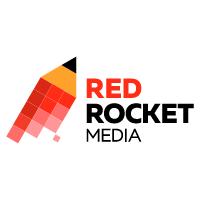 Логотип компании «RedRocketMedia»