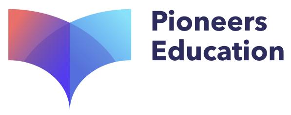 Логотип компании «Pioneers Education»