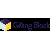 Логотип компании «The Giving Block»