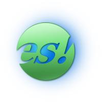 Логотип компании «Продюсерский центр ES»
