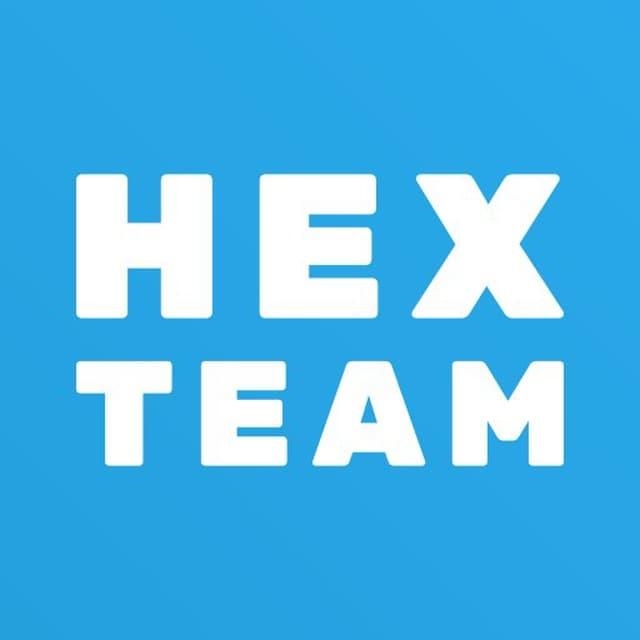 Логотип компании «Hex.team»