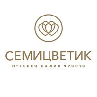 Логотип компании «Семицветик»