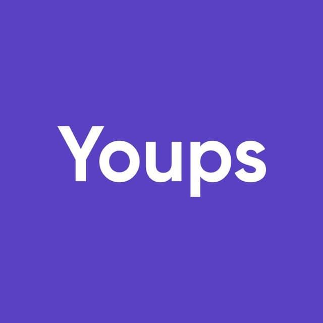 Логотип компании «Youps»