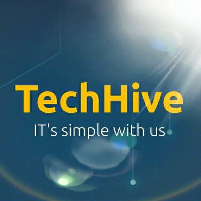 Логотип компании «TechHive»