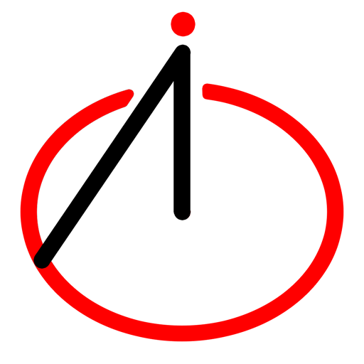 Логотип компании «Red Circle AI»