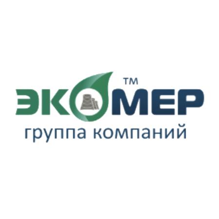 Логотип компании «ГК «ЭКОМЕР»»