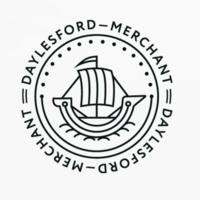 Логотип компании «Daylesford Merchant»