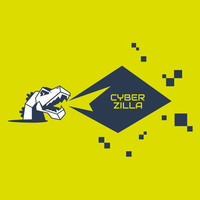 Логотип компании «CyberZilla»
