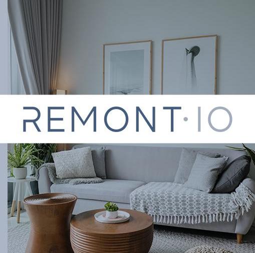 Логотип компании «REMONT.IO»