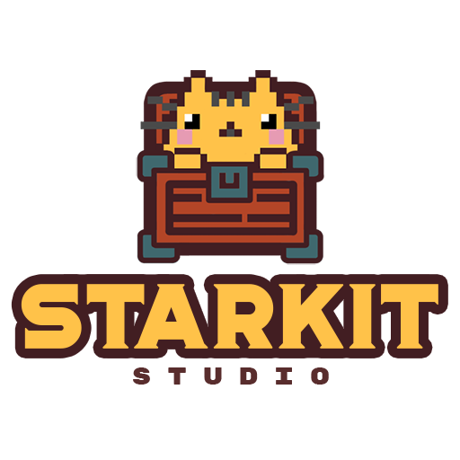 Логотип компании «Starkit studio»