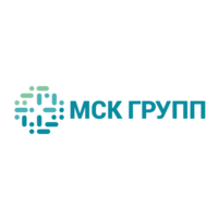 Логотип компании «МСК ГРУПП»