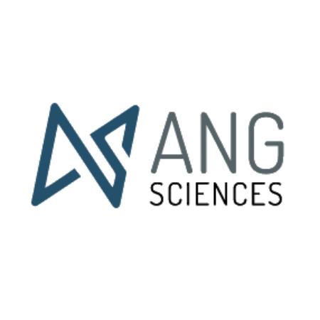 Логотип компании «ANG Sciences»