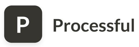 Логотип компании «Processful»