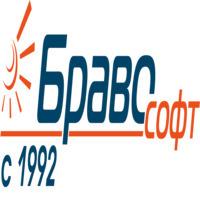 Логотип компании «Браво Софт»