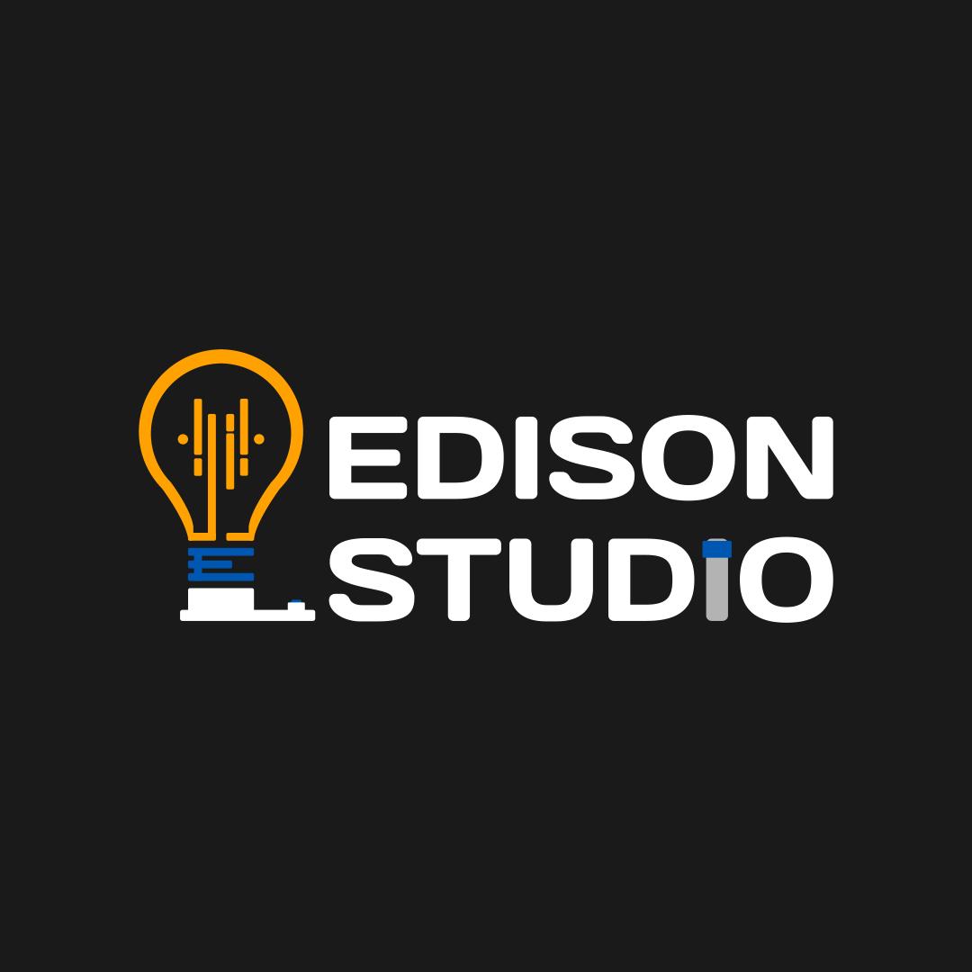 Логотип компании «Edison Studio»