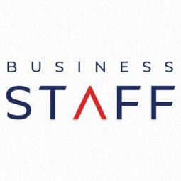 Логотип компании «BUSINESS STAFF»