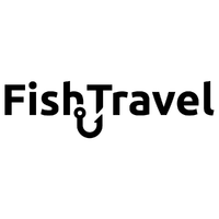 Логотип компании «Fish.Travel»