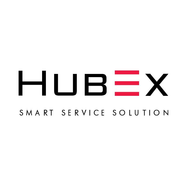 Логотип компании «HubEx»