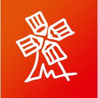 """Логотип компании «Студия анимационного кино """"Мельница""""»"""