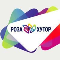 Логотип компании «Роза Хутор»