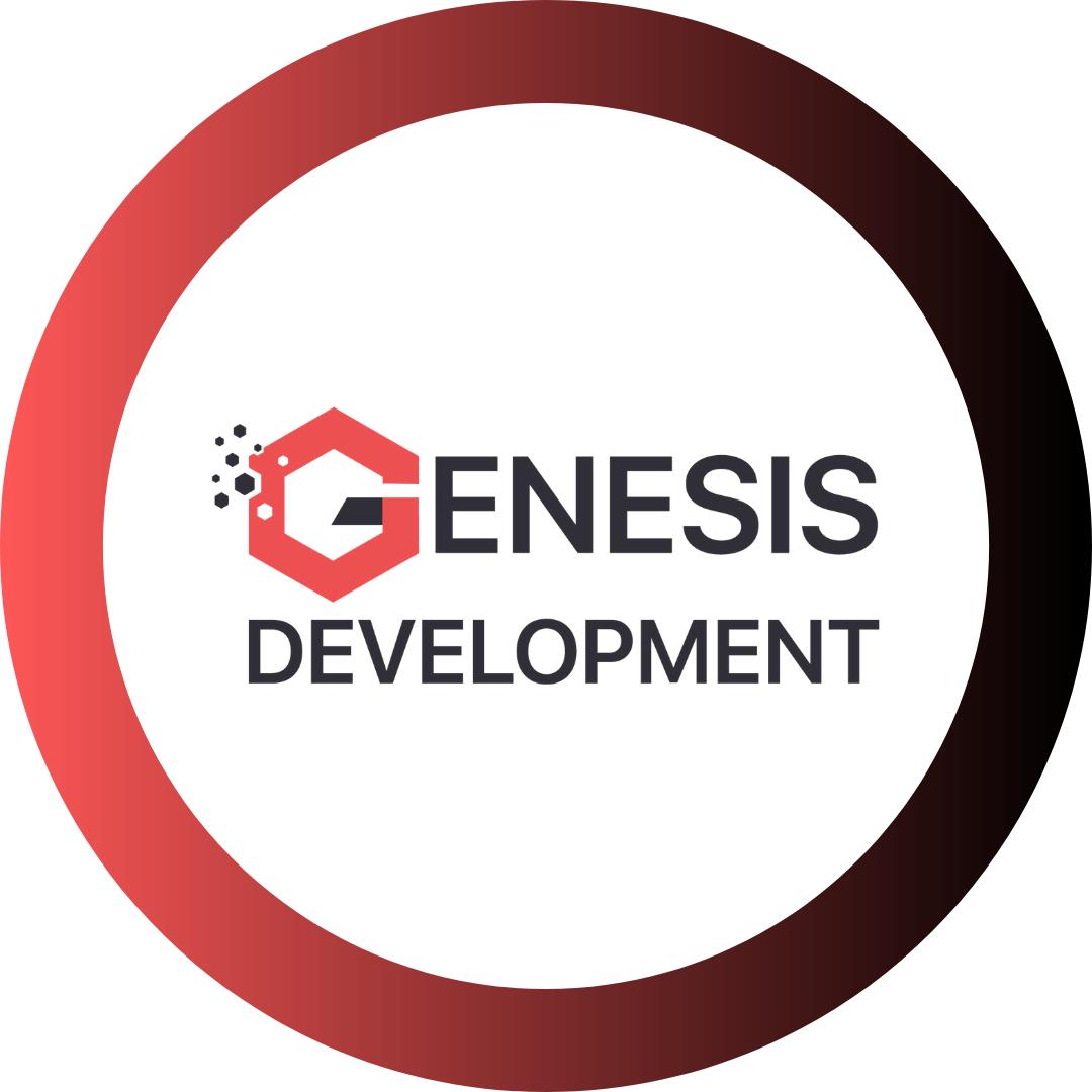 Логотип компании «Genesis Development»