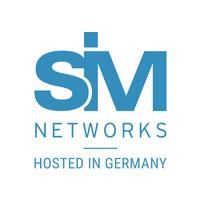 Логотип компании «Sim-networks»