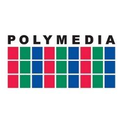Логотип компании «POLYMEDIA»