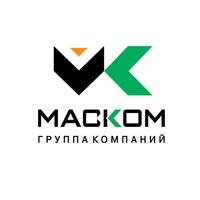 Логотип компании «ГК МАСКОМ»
