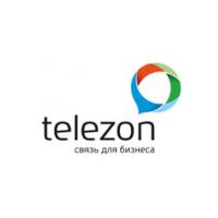 Логотип компании «Телезон»