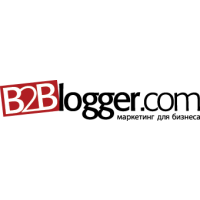Логотип компании «B2Blogger.com»