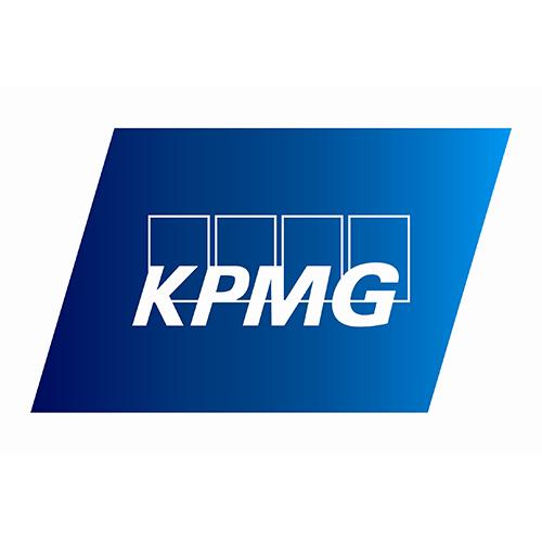 Логотип компании «KPMG»