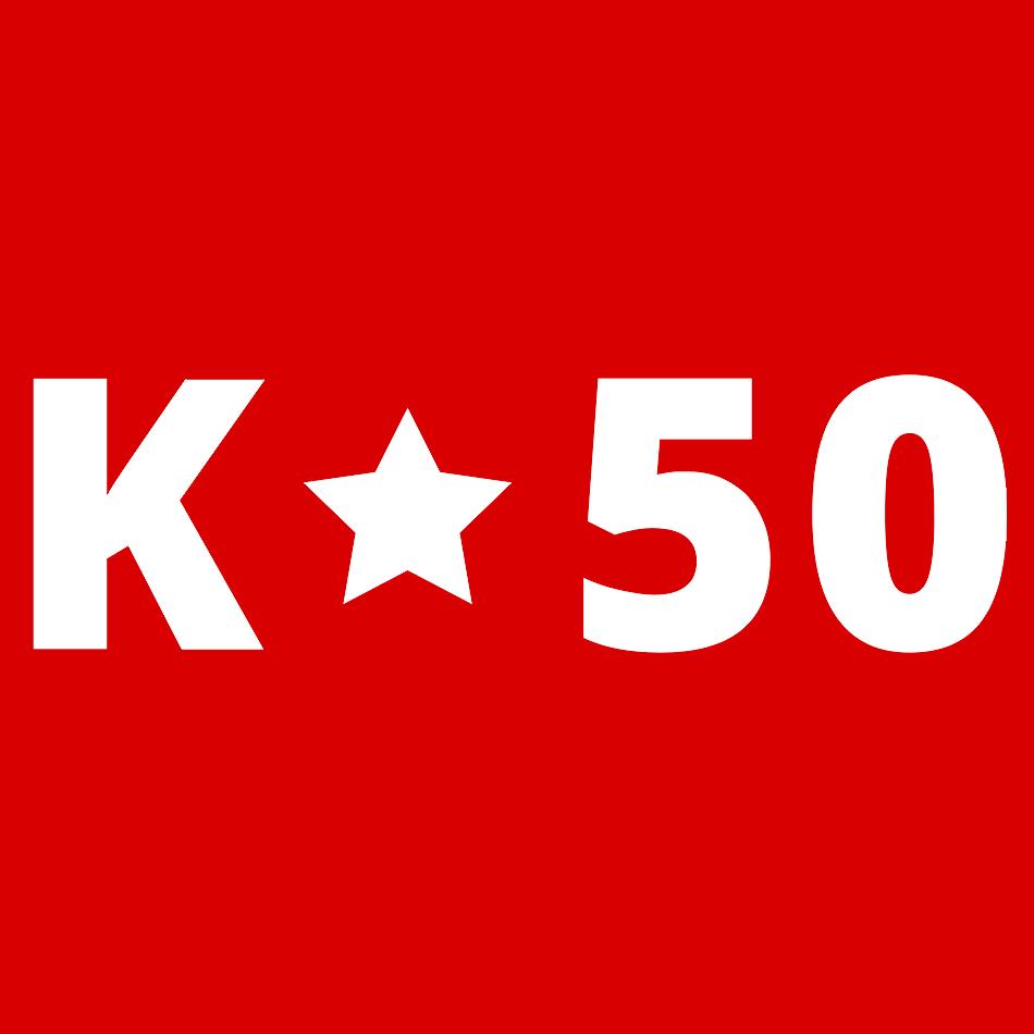 Логотип компании «K50»