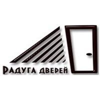 Логотип компании «Радуга дверей»