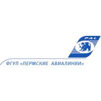 Логотип компании «Пермские авиалинии»