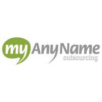 Логотип компании «myAnyName outsourcing»
