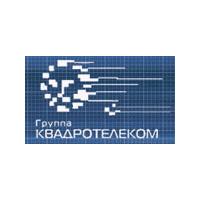 Логотип компании «Группа КВАДРО ТЕЛЕКОМ»