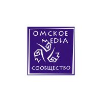 Логотип компании «Омское Медиасообщество»
