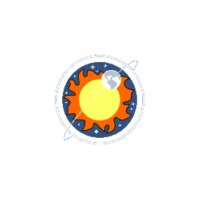 Логотип компании «Институт Солнечно-Земной Физики СО РАН»