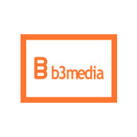 Логотип компании «B3Media»