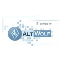 Логотип компании «AltWolf»