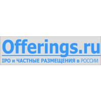 Логотип компании «Информационно-аналитический проект «Публичные и Частные размещения акций»/Offerings.ru»