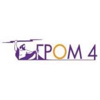 Логотип компании «ГРОМ-4»