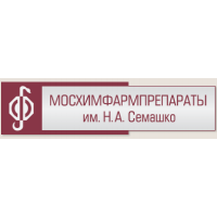 Логотип компании «Мосхимфармпрепараты им. Н.А.Семашко»