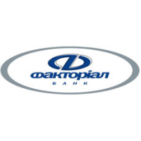 Логотип компании «Факториал-банк»