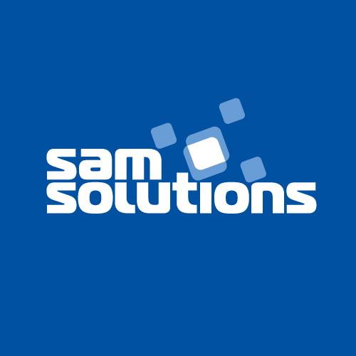Логотип компании «SaM Solutions»