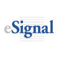 Логотип компании «eSignal»