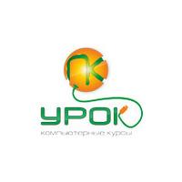 Логотип компании «Урок ПК - выездные компьютерные курсы»