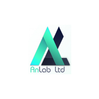 Логотип компании «АнЛаб»